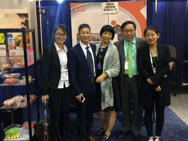 Jiamu Packing attended 2017 USA PMA Fresh Summit Conference & expo
